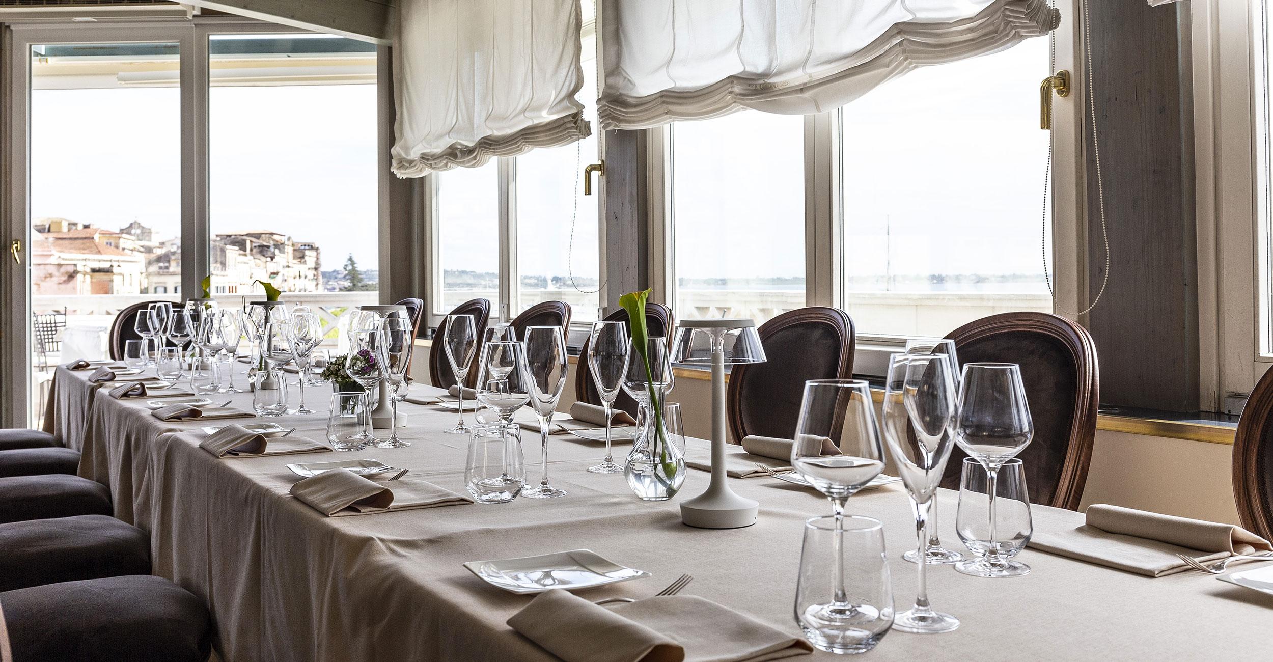 Romantic restaurant Ortigia